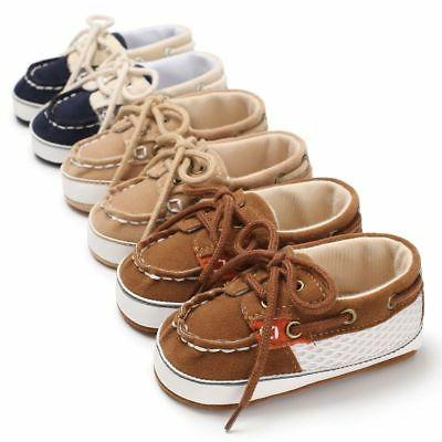 Infant Boy Girl Sole Crib Shoes
