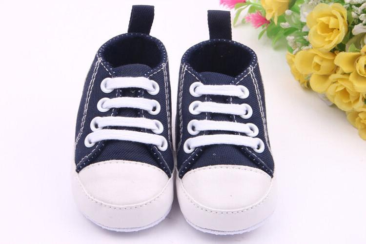 Boys Sole Crib Shoes to 12Months