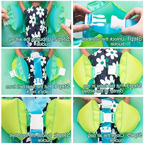 R ? HORSE Baby Inflatable Float Ring Children Waist Float Inflatable Swimming for Aged Month