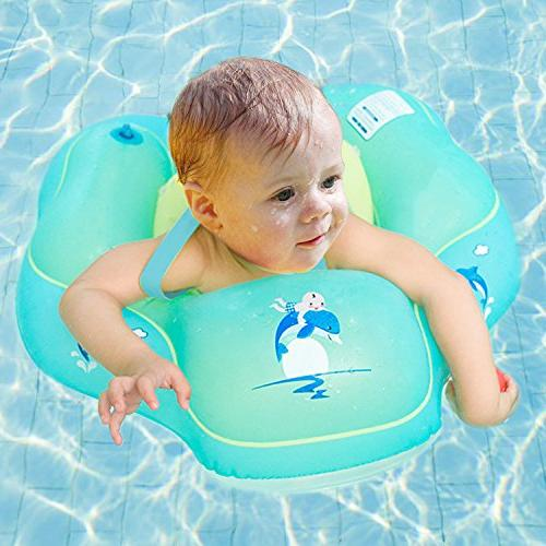 R ? Inflatable Swimming Ring Children Waist Float Ring Inflatable Pool Toys Aged 3-12