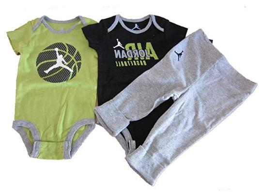 jordan baby boys bodysuit shirt pants 3pc