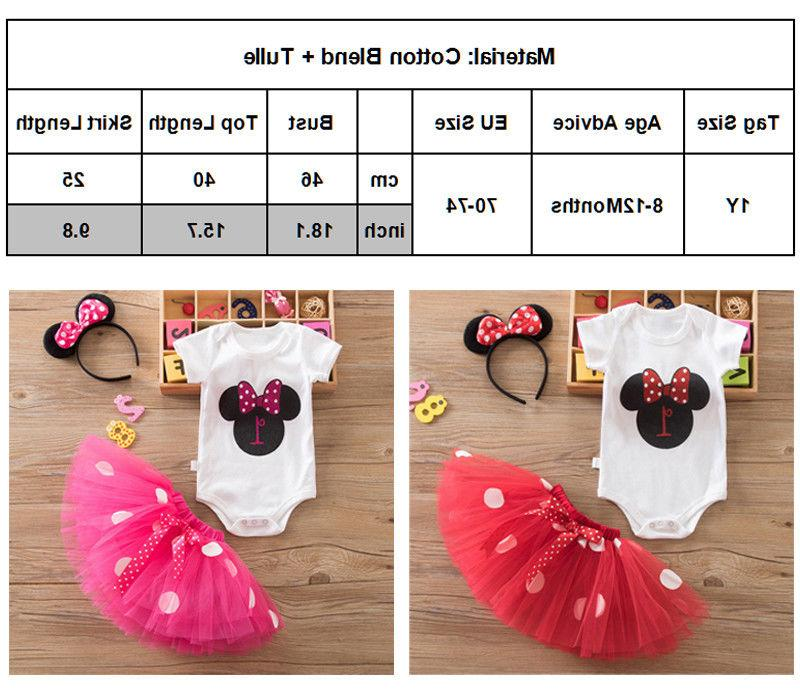 Girls Minnie Mouse Dots Party Headband