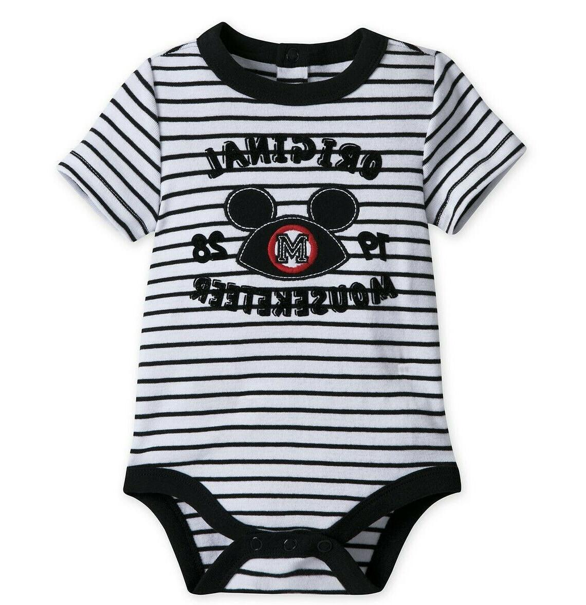 Mickey Mouse Mouseketeer Disney Cuddly Bodysuit for Baby 18