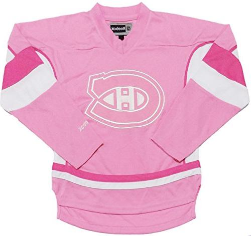 montreal canadiens toddler pink team