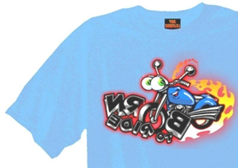 Motorcycle Boys Tshirt to Biker Short Sleeve 4T