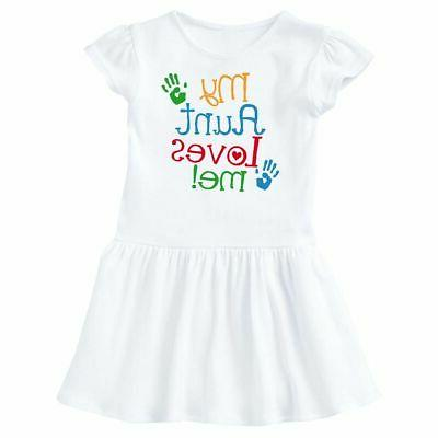 my aunt loves me outfit infant dress