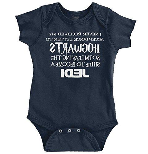 never received wizard school letter nerdy romper