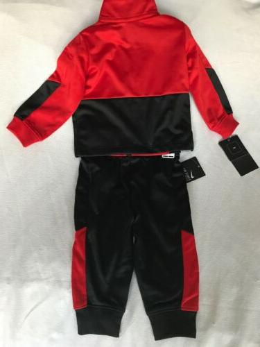 NEW Baby Size 12 Set Track Red Nike