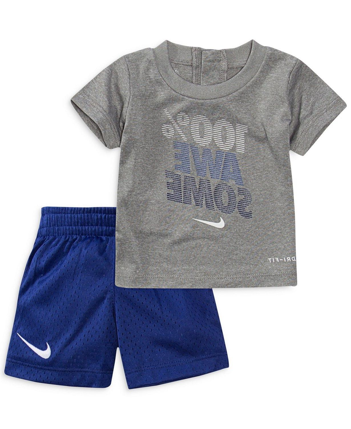 New Nike Graphic Shorts Set Size and Color