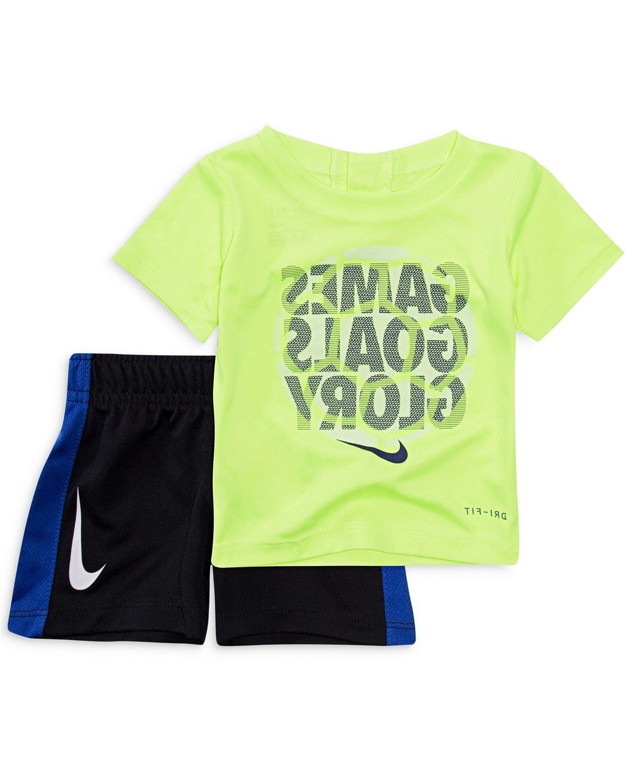 New Nike Swoosh Tee Shorts Size and Color