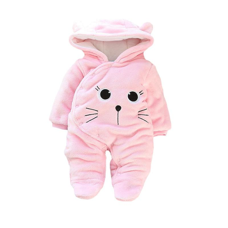 new born girl baby footies infant winter