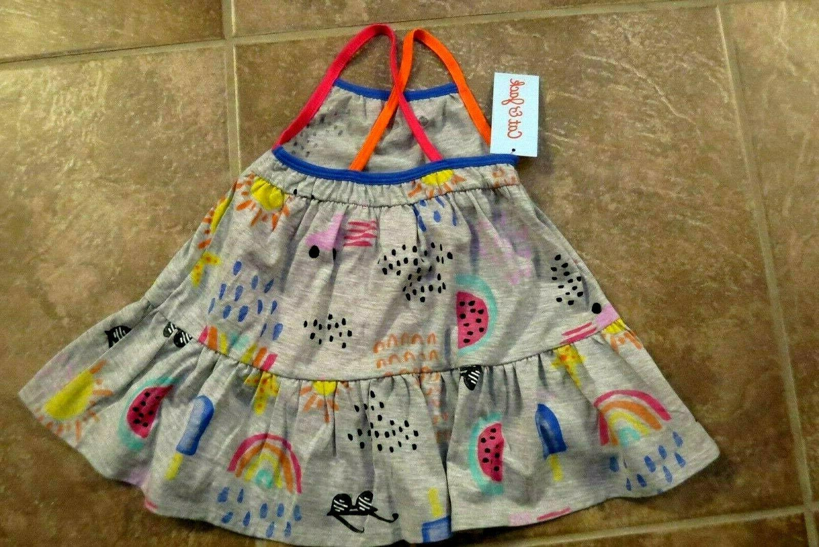 NEW Cat Baby Toddler Girls 2 Piece 12 or 2T Set