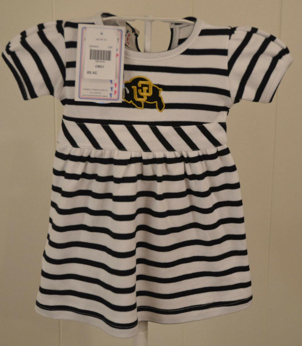 New Colorado University CU Buffaloes Dress Infant 12 months