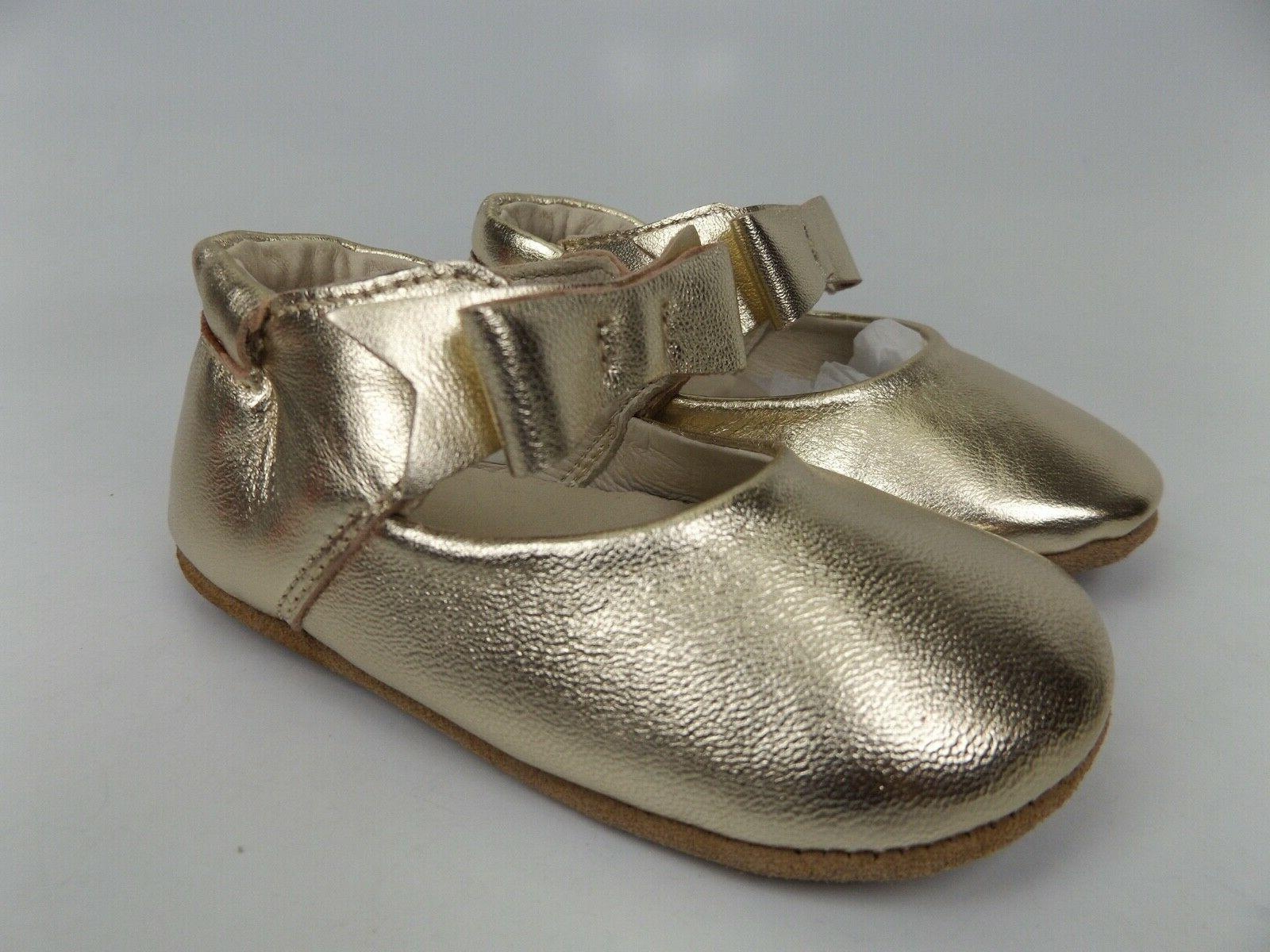 NEW! Sophia Gold Leather SZ Months 1414