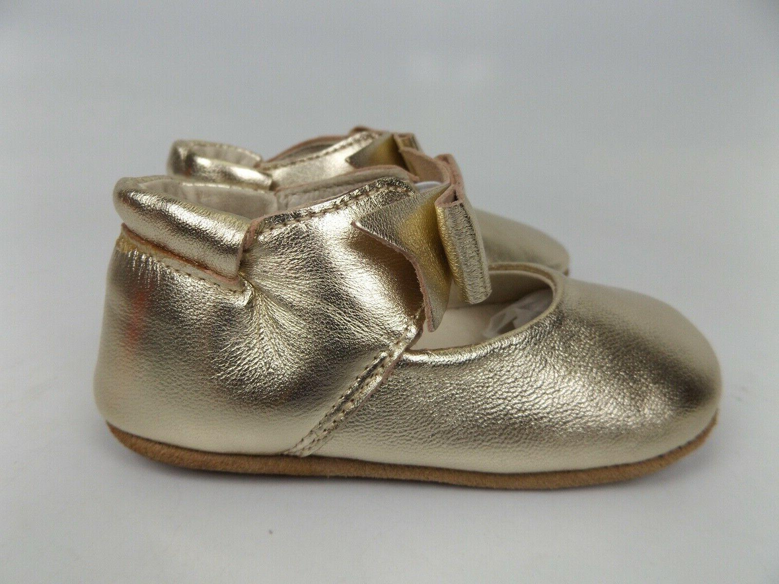 NEW! Robeez Sophia Soft Sole Leather Months