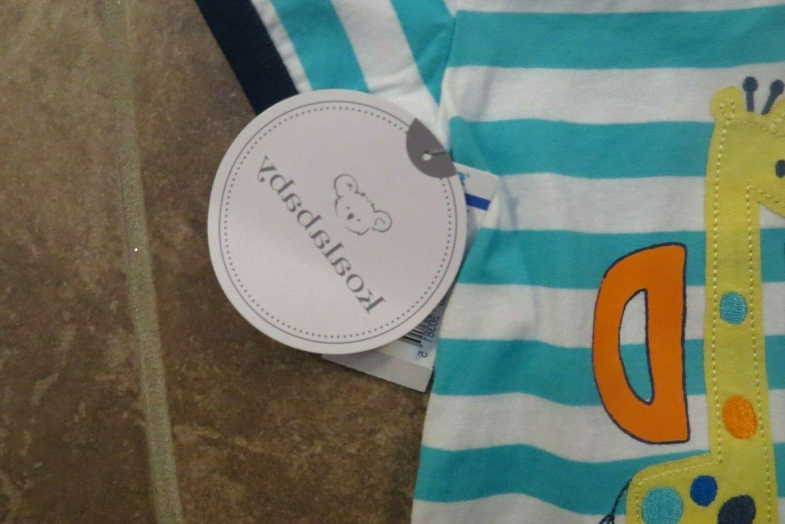 NEW Boys One Piece Outfit 6-9 9-12 Mo Romper