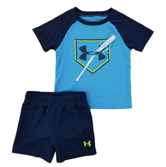 New Boys Shirt Short 2 Piece Set Size