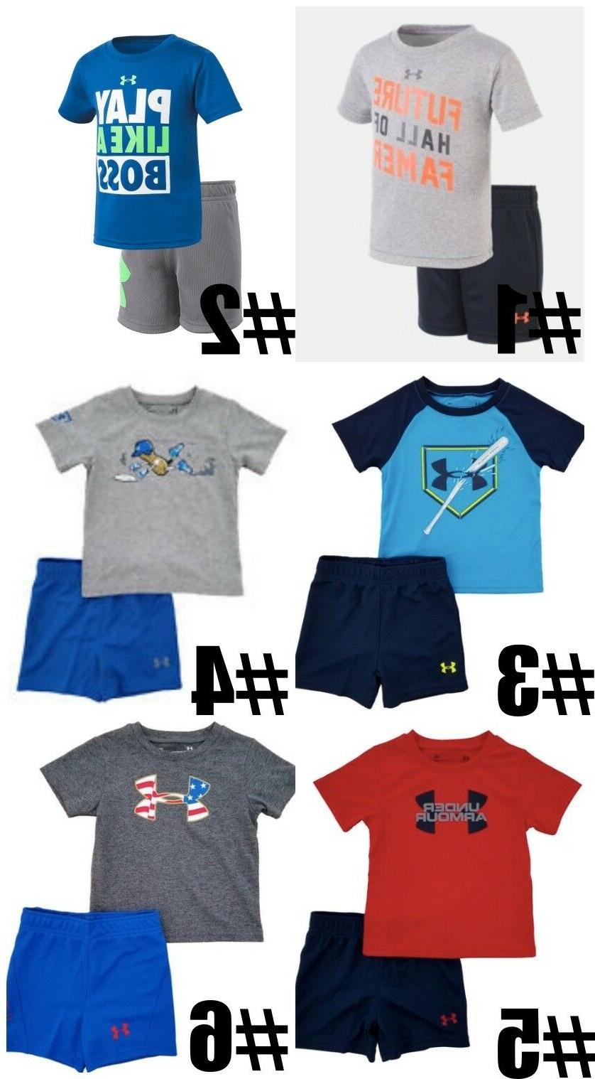 new infant boys shirt and short 2