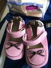 New Robeez infant girl shoes size 4