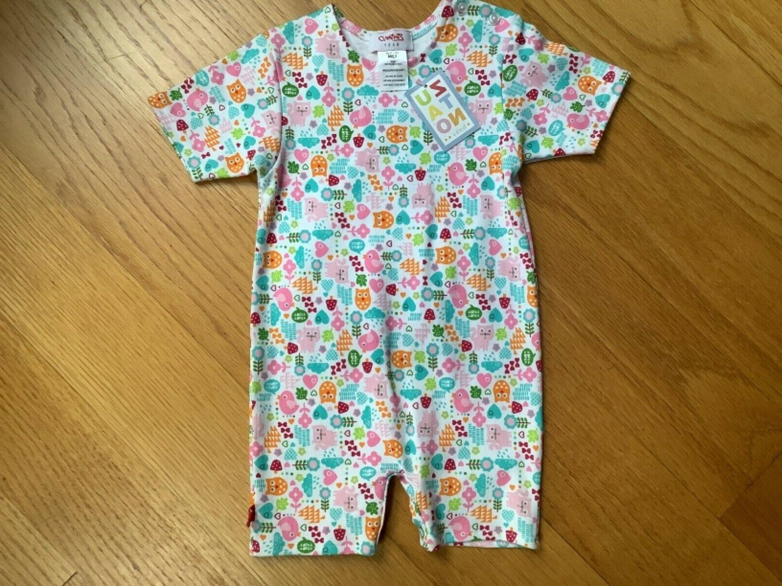 new infant girl short outfit size 12