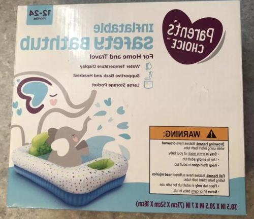 new inflatable safety bathtub for home or