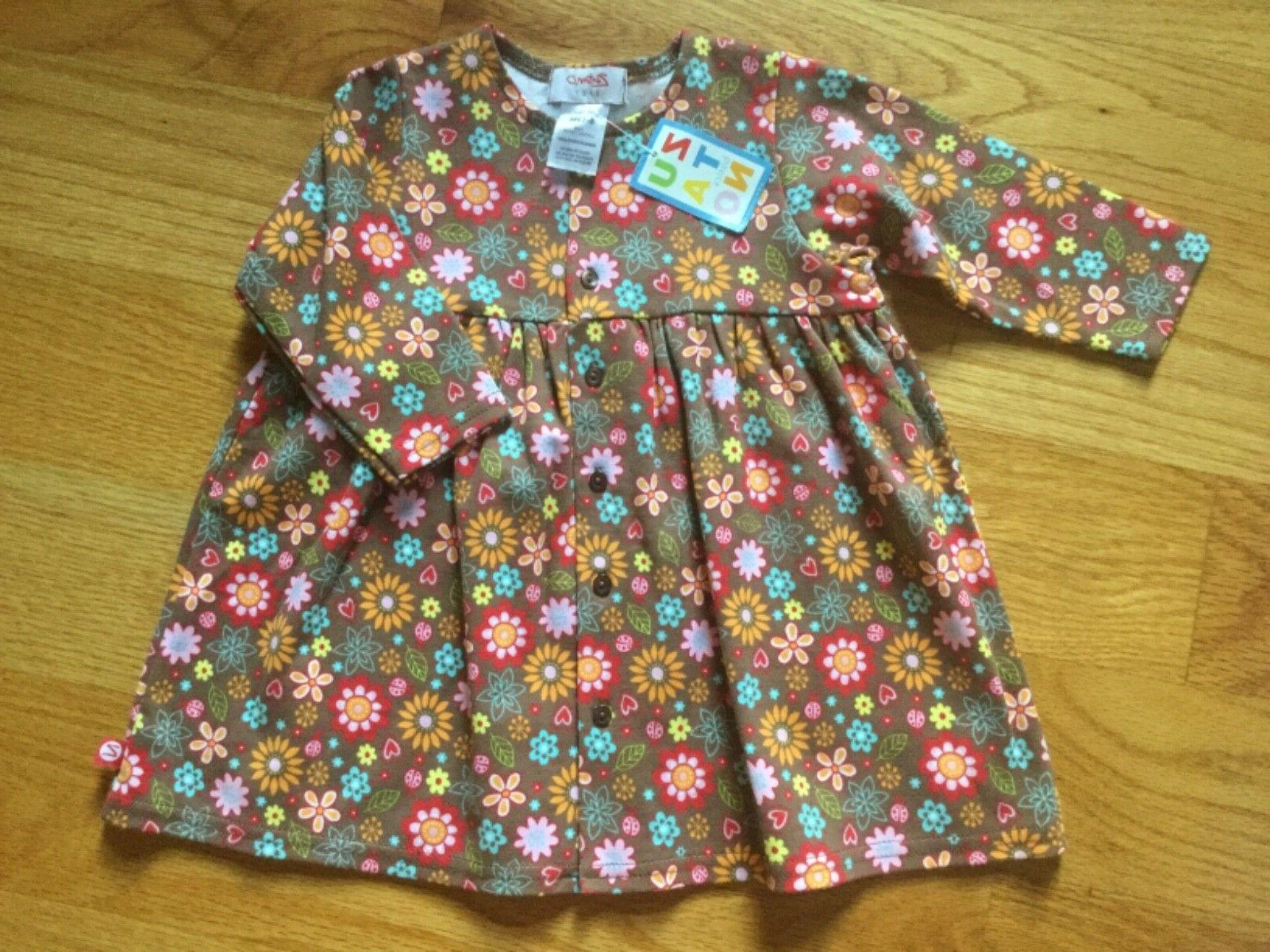 New Zutano intant dress size 6-12 months