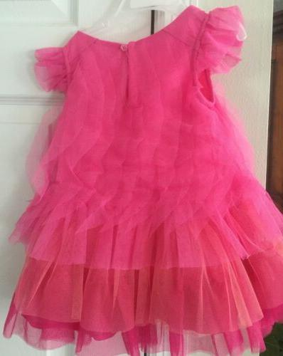 New- The Children's 12-18 Months Pink Tulle Dress Nwt