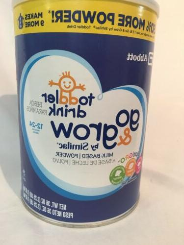 new toddler drink go and grow similac