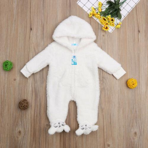 Newborn Fall Bodysuit Jumpsuit Hoodies