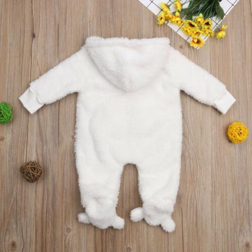 Newborn Baby Boy Fall Bodysuit Jumpsuit Clothes