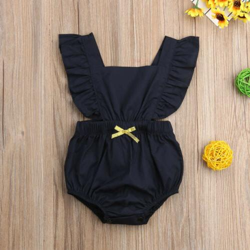 Newborn Baby Solid Jumpsuit USA
