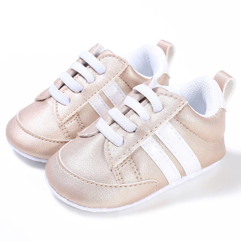 Newborn Baby Girls First Bebe Lace-Up Sports