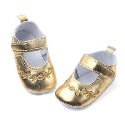 Newborn Baby Pram Shoes Sole Slip