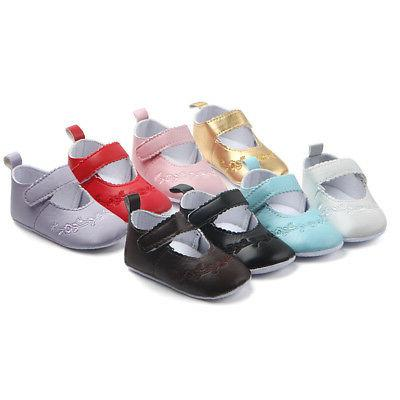 Newborn Pram Kids Sole Slip Walkers Sneaker KI
