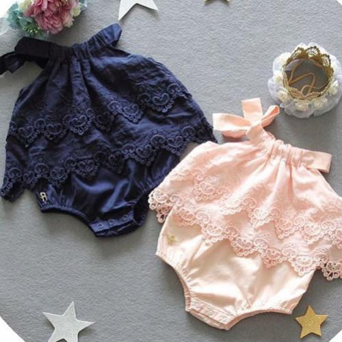 Canis Newborn Baby Girls Lace Outfits Clothes