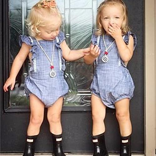 Younger Girls Sleeveless Bodysuit Clothes )