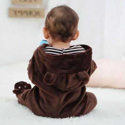 Newborn Boy Girl Romper Jumpsuit Bodysuit Outfits