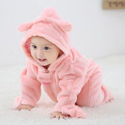 Newborn Baby Infant Kid Jumpsuit Clothes