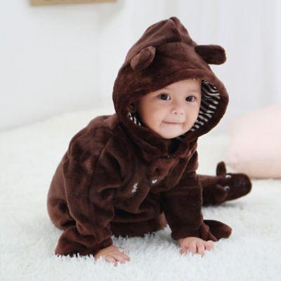 Newborn Baby Kid Boy Romper Jumpsuit Bodysuit Outfits