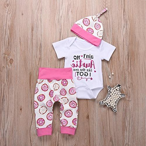 Younger Letter Pants and Hats Short