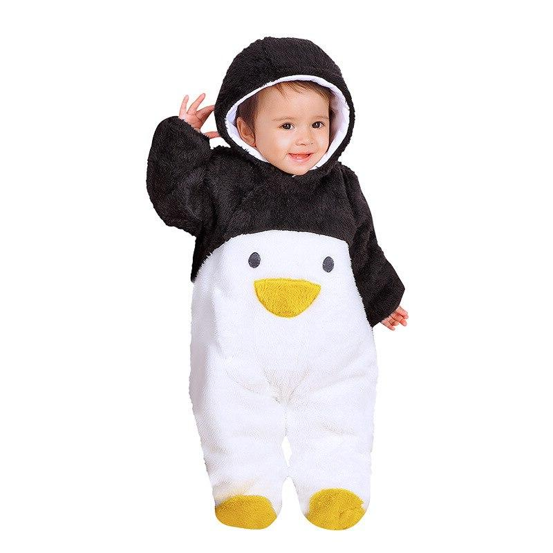 Newborn Cartoon Girls Costume Infant Baby Hoodies Jumpsuit <font><b>12</b></font> <font><b>Month</b></font> Clothes