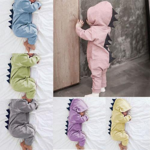 Newborn Girl Hooded Romper Jumpsuit Clothes
