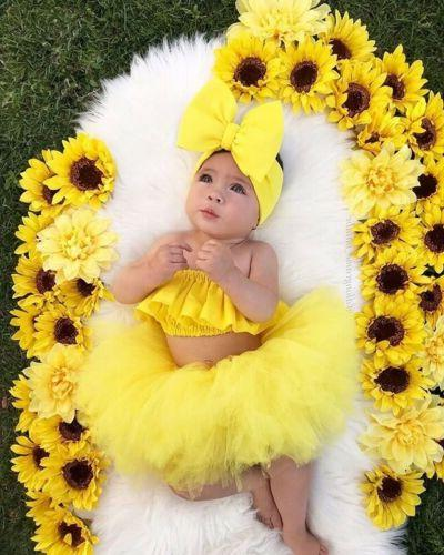 Newborn Baby Clothes Tutu Skirt Outfits