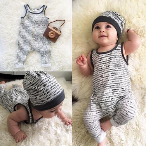 Boy Girl Romper