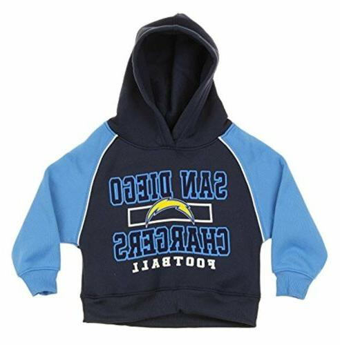 OuterStuff NFL Infants & Toddlers San Diego Chargers Hooded
