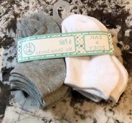 nwt 6 pair pack of baby girl