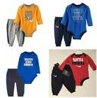 NWT Nike Baby Boy 2-Pc ASSORTED Bodysuit & Pant Sets 0-3, 3-
