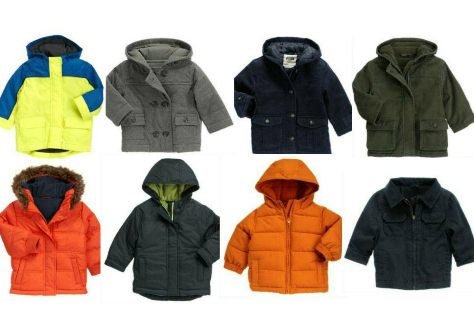 nwt baby boy winter coats jackets sizes
