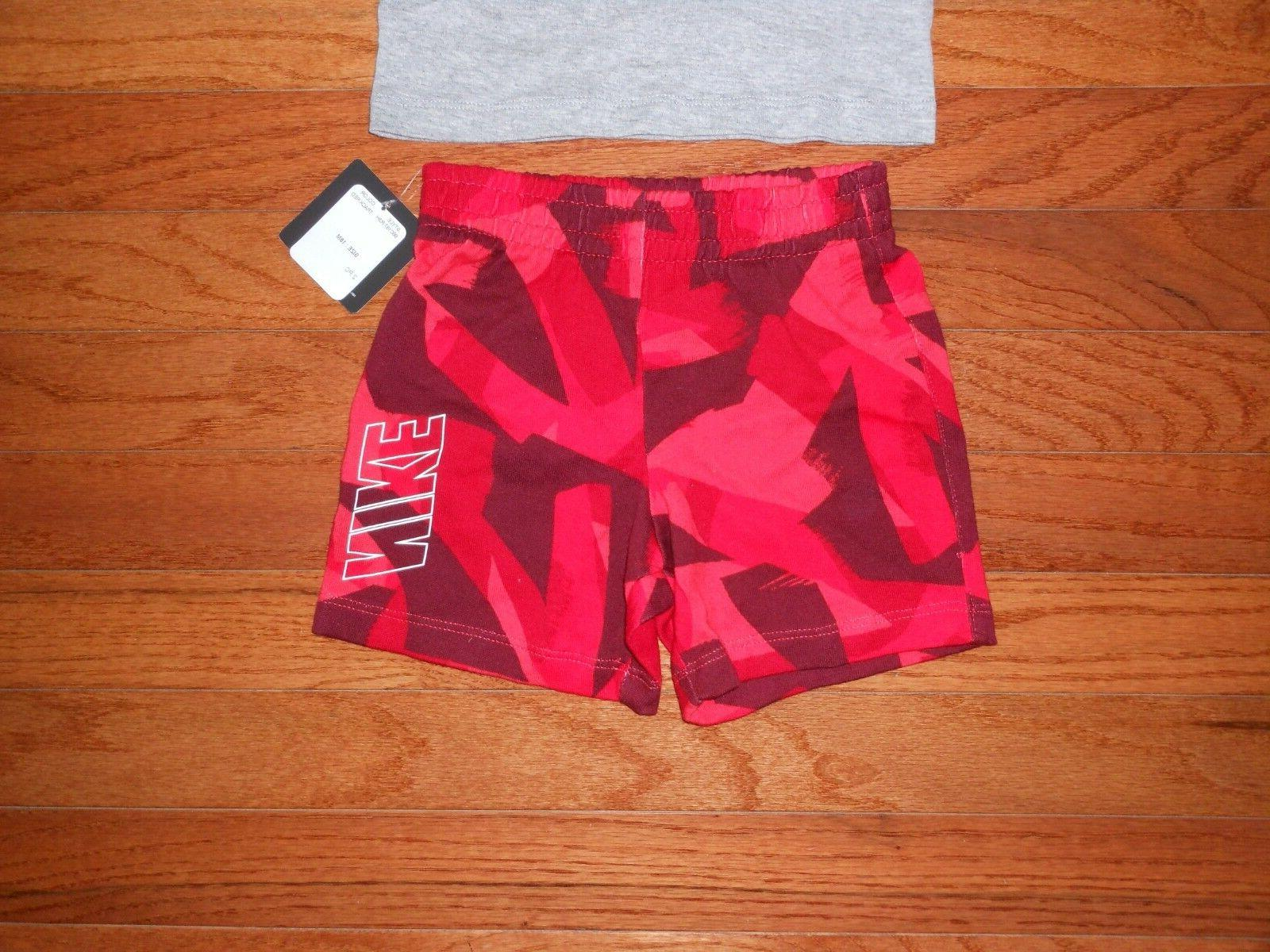 NWT Nike Baby 2pc and short outfit 12M