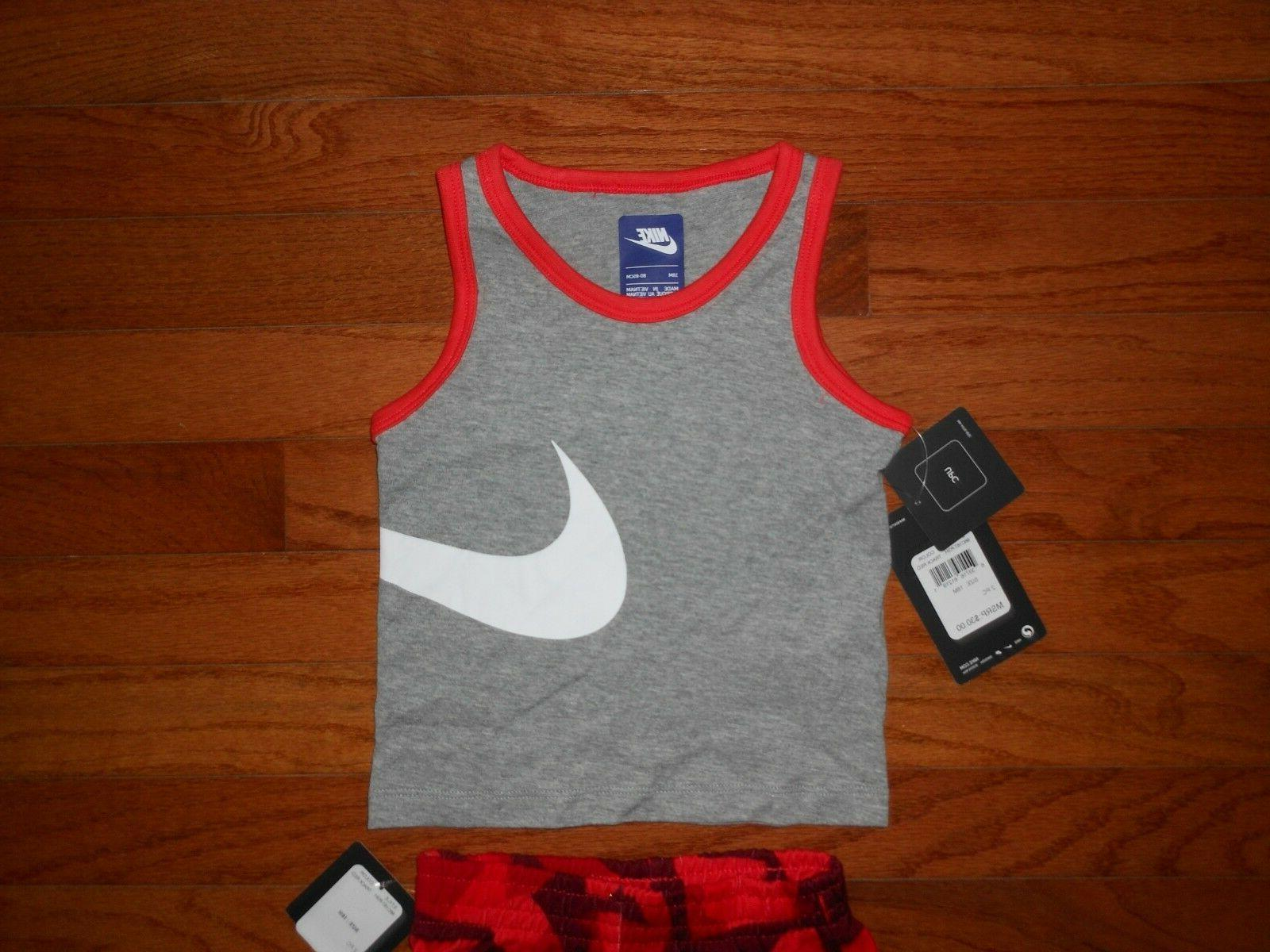NWT Nike Baby 2pc shirt short outfit set, 12M